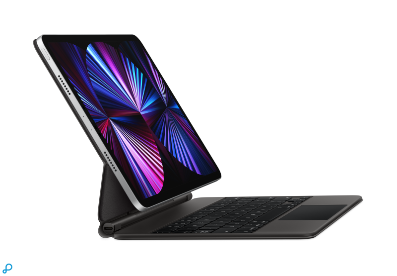 Magic Keyboard voor 11-inch iPad Pro en iPad Air (4e generatie) - Nederlands - Zwart