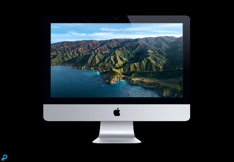 21,5-inch iMac: 2,3-GHz dual-core Intel Core i5-processor van de 7e generatie, 256 GB
