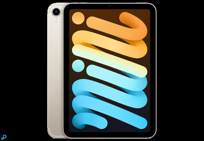 iPadmini, Wi‑Fi+Cellular, 256GB - sterrenlicht