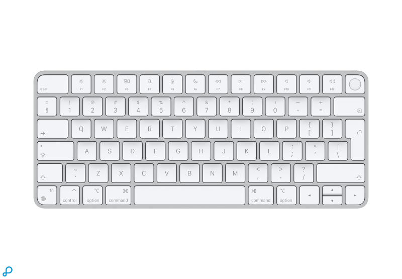 Magic Keyboard met Touch ID voor Macs met Apple Silicon - Zwitsers