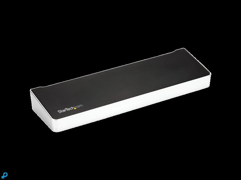 StarTech USB C Dock - Triple 4K - 100W PD - USB C to 2x DisplayPort