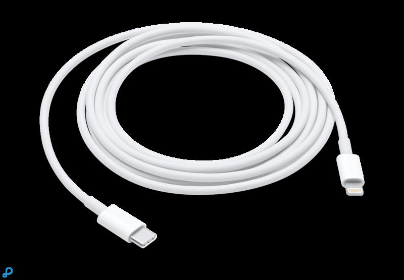Lightning naar USB-C kabel 2m