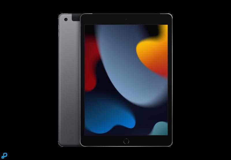 10,2-inch iPad, Wi-Fi + Cellular, 64 GB, spacegrijs