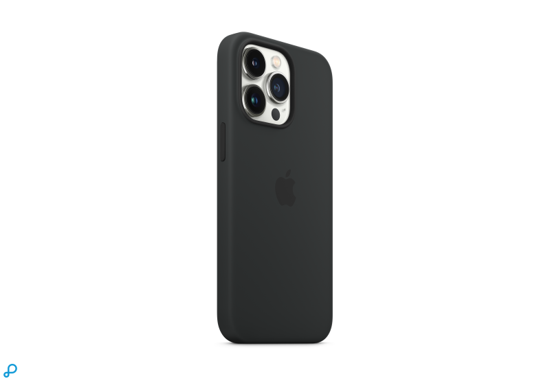 iPhone 13 Pro Siliconen Case met MagSafe – Midnight