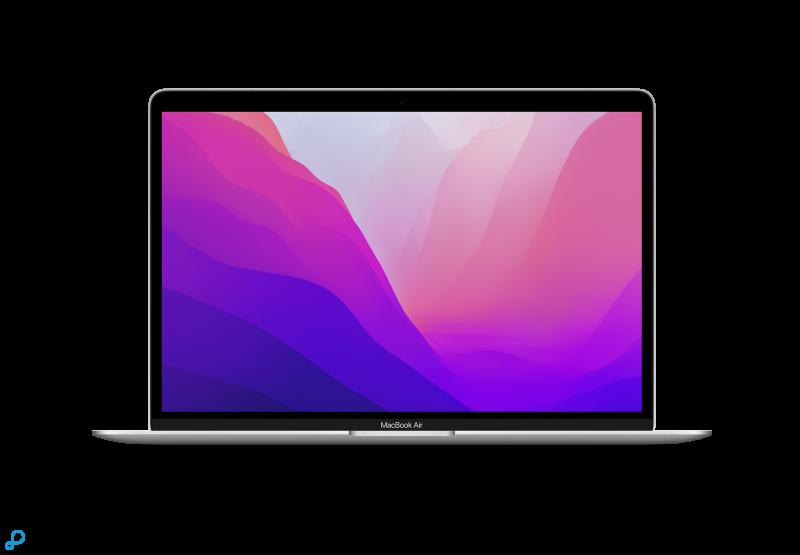 13-inch MacBook Air: Apple M1-chip met 8-core CPU en 7-core GPU, 256 GB SSD - zilver