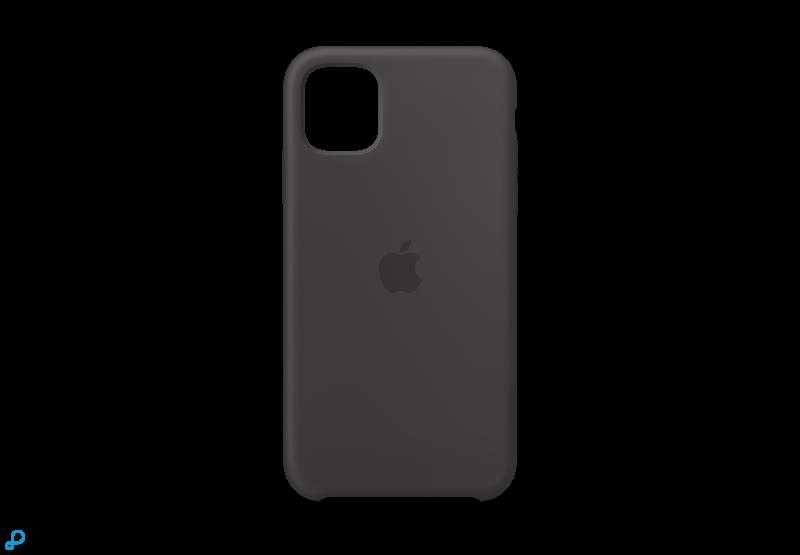 iPhone 11 Siliconen Hoes - Zwart