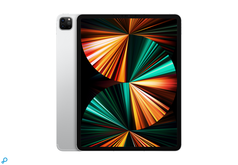 12,9-inch iPad Pro, Wi-Fi + Cellular, 2 TB, zilver