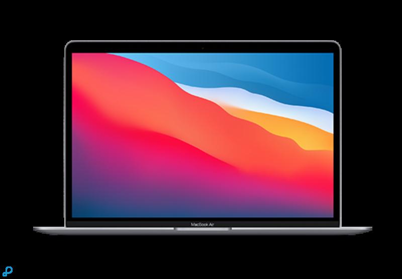 13-inch MacBook Air: Apple M1-chip met 8-core CPU en 7-core GPU, 256 GB SSD - spacegrijs