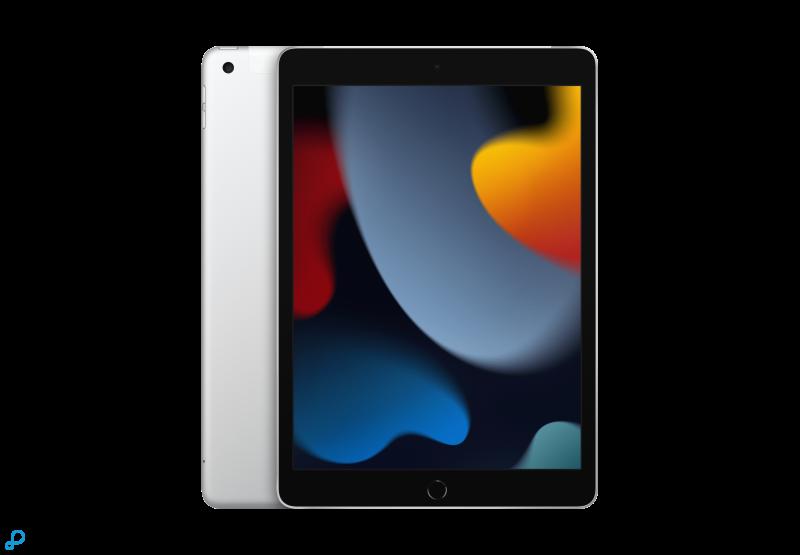 10,2-inch iPad, Wi-Fi + Cellular, 256 GB, zilver