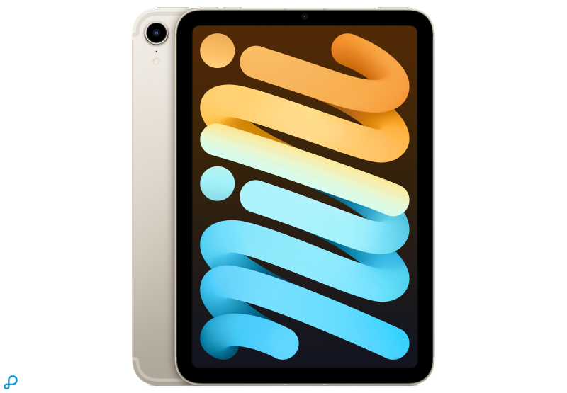 iPadmini, Wi‑Fi+Cellular, 64GB - sterrenlicht