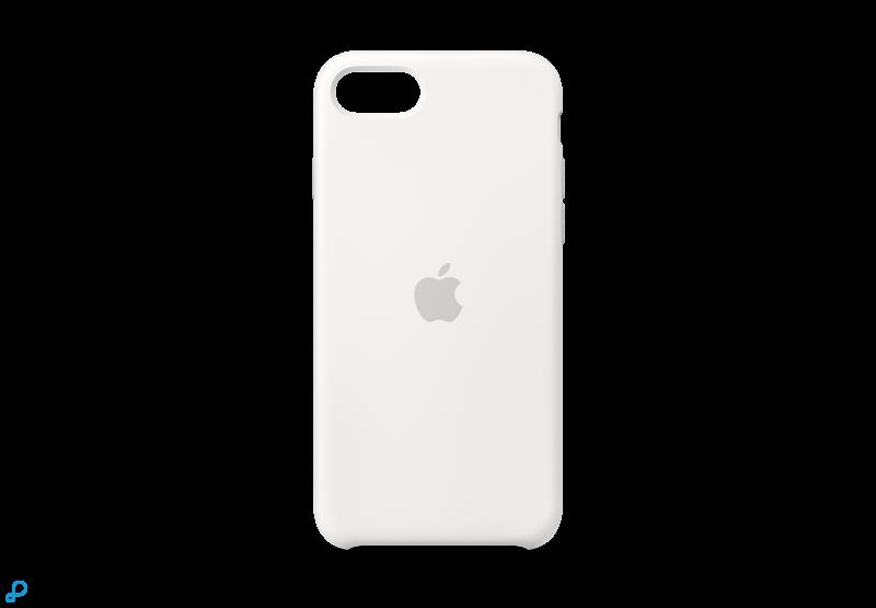 iPhone SE Siliconen Case - Wit
