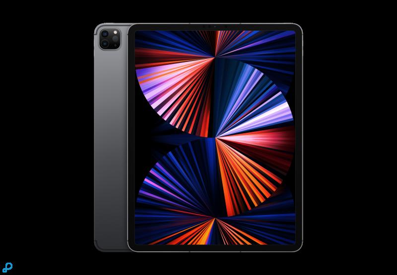 12,9-inch iPad Pro, Wi-Fi + Cellular, 128 GB, spacegrijs