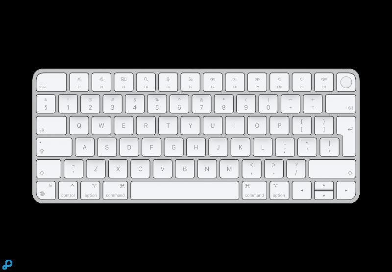 Magic Keyboard met Touch ID voor Macs met Apple Silicon - Nederlands