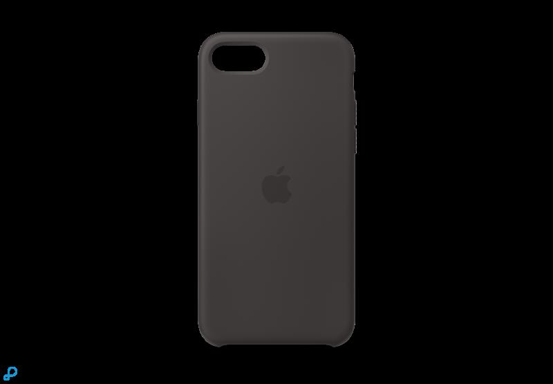 iPhone SE Siliconen Case - Zwart