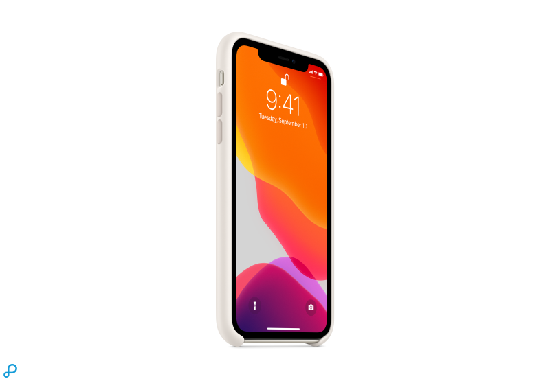 iPhone 11 Siliconen Hoes - Wit