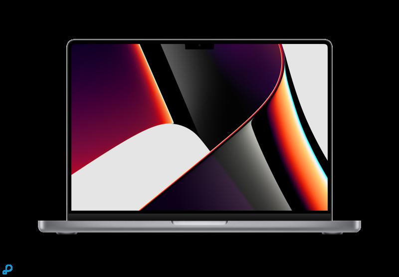 14-inch MacBook Pro: Apple M1 Pro-chip met 8-core CPU en 14-core GPU, 512 GB SSD - spacegrijs