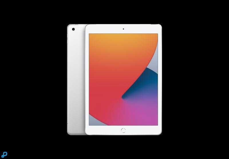 10,2-inch iPad , Wi-Fi + Cellular, 128 GB, zilver EOL