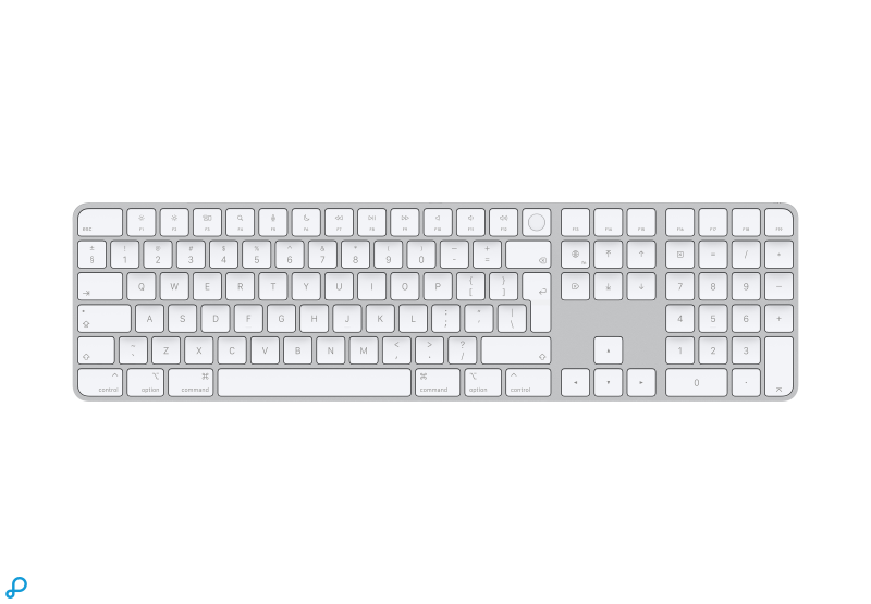 Magic Keyboard met Touch ID en numeriek toetsenblok voor Macs met Apple Silicon - Spaans