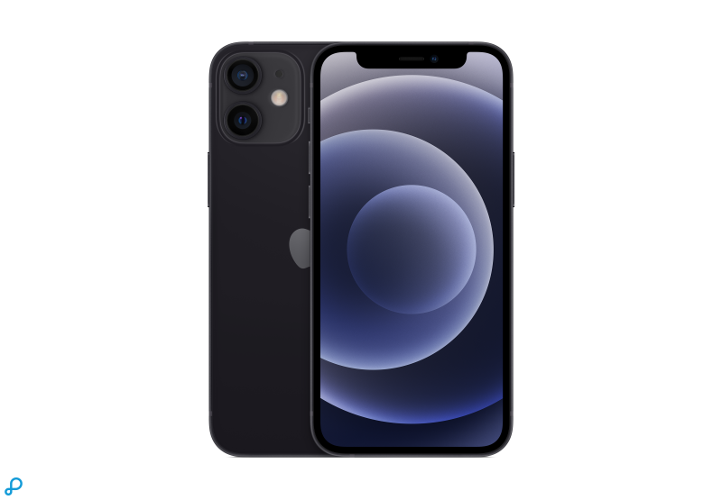 iPhone 12 mini 256GB - Zwart