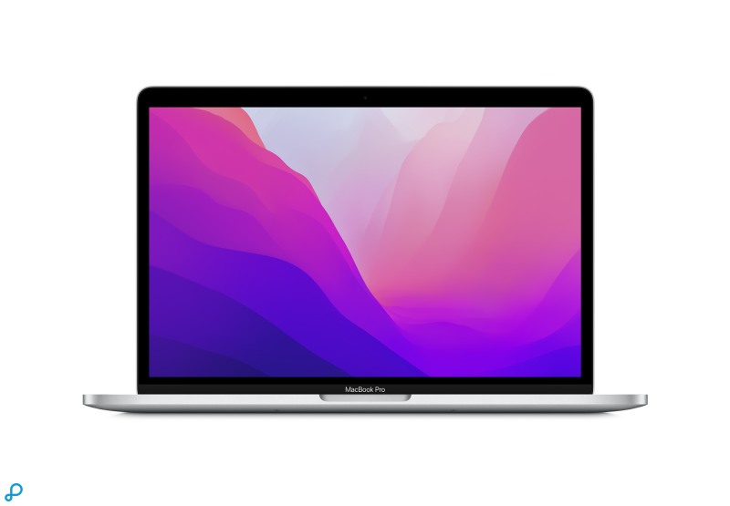 13-inch MacBook Pro: Apple M1-chip met 8-core CPU en 8-core GPU, 512 GB SSD - zilver