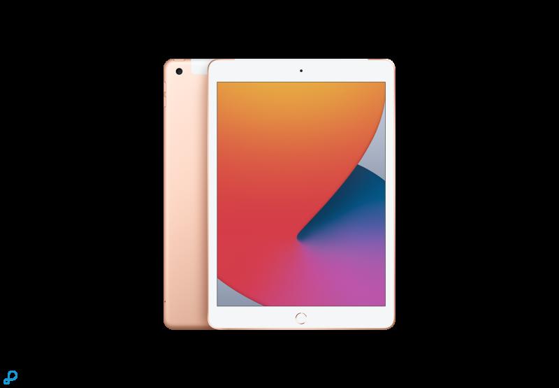 10,2-inch iPad , Wi-Fi + Cellular, 128 GB, goud EOL
