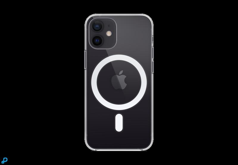 Doorzichtig hoesje met MagSafe voor iPhone 12 mini