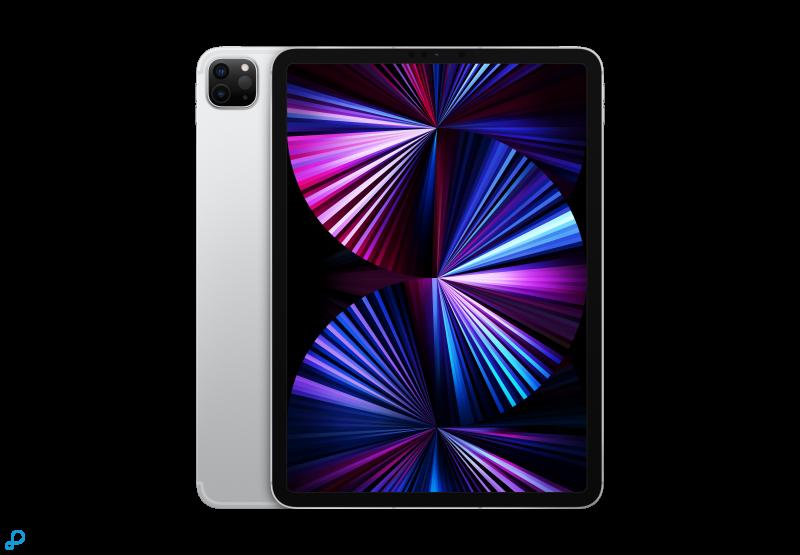 11-inch iPad Pro, Wi-Fi + Cellular, 512 GB, zilver