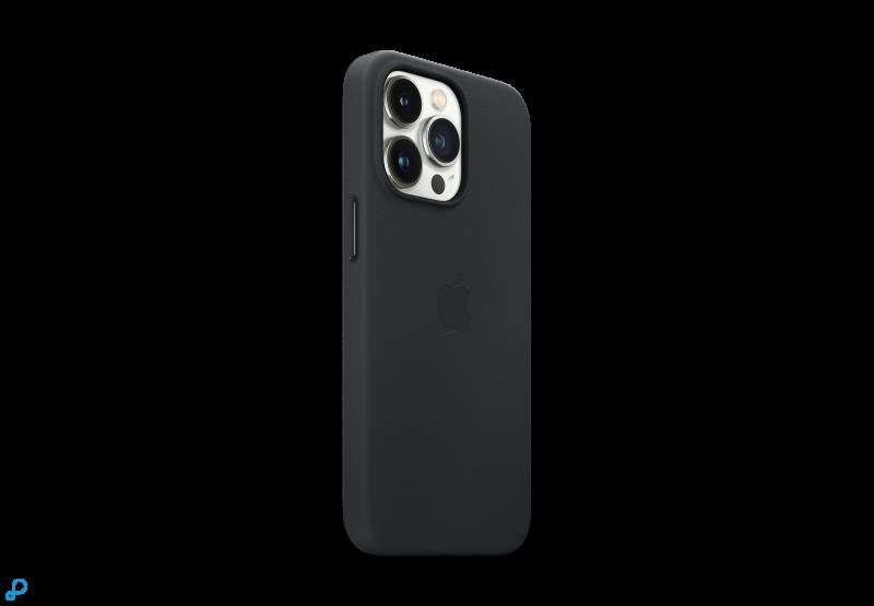 iPhone 13 Pro Leren Case met MagSafe - Middernacht