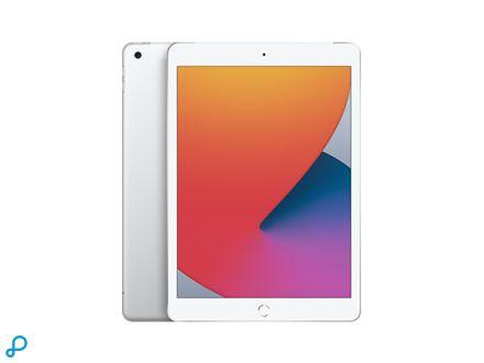 10,2-inch iPad , Wi-Fi + Cellular, 128 GB, zilver