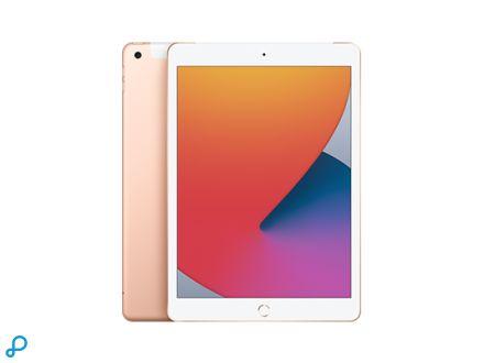 10,2-inch iPad , Wi-Fi + Cellular, 128 GB, goud