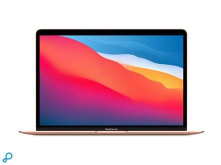 13-inch MacBook Air: Apple M1-chip met 8-core CPU en 7-core GPU, 256 GB SSD - goud