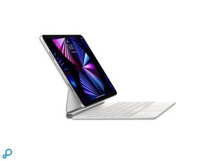 Magic Keyboard voor 11-inch iPad Pro en iPad Air (4e generatie) - Nederlands - Wit