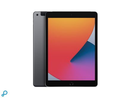 10,2-inch iPad , Wi-Fi + Cellular, 32 GB, spacegrijs