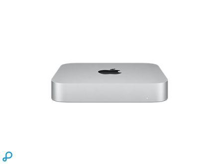 Mac mini: Apple M1-chip met 8-core CPU en 8-core GPU, 512 GB SSD
