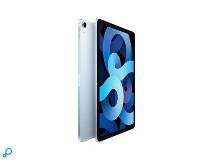 10,9-inch iPad Air, Wi-Fi + Cellular, 64 GB, hemelsblauw