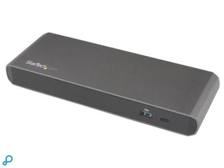 Thunderbolt 3 Dual-4K laptop docking station met 3x USB 3.0 poorten