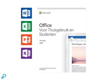 Microsoft Office Home & Student 2019 - Engels