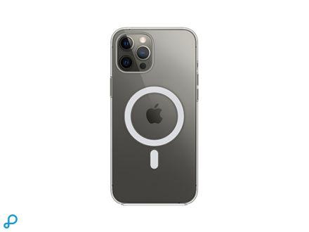 Doorzichtig hoesje met MagSafe voor iPhone 12 Pro Max
