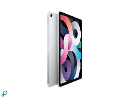 10,9-inch iPad Air, Wi-Fi + Cellular, 64 GB, zilver