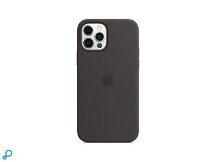 Siliconenhoesje met MagSafe voor iPhone 12 | 12 Pro - Zwart
