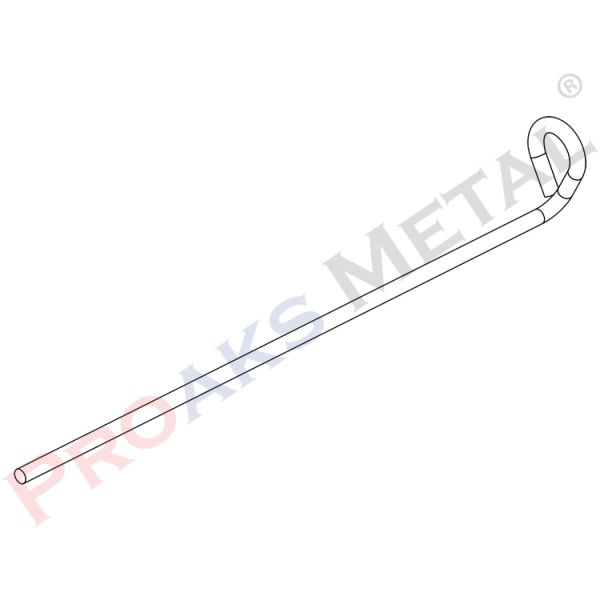 Wire With Round Bend Suspended Ceiling Height Twist Wires