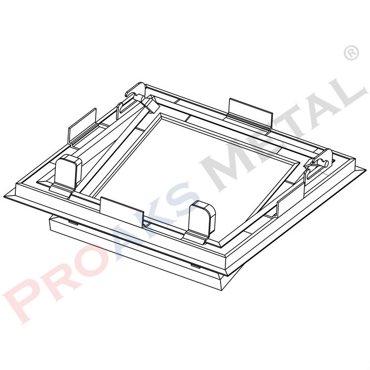 Drywall Access Panel Suspended Ceiling Revision Doors Aluminum
