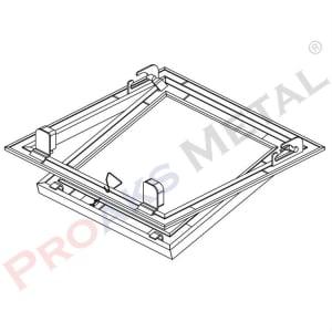 Proline Standard Stainless Inner Cover Plaster Suspended Ceiling