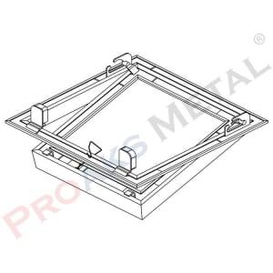 Protwinline Double Ceiling Access Panels