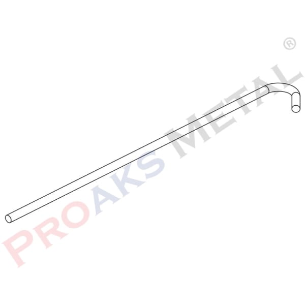 Wire With Hook Bend Suspended Ceiling Acoustic Surface Carrier