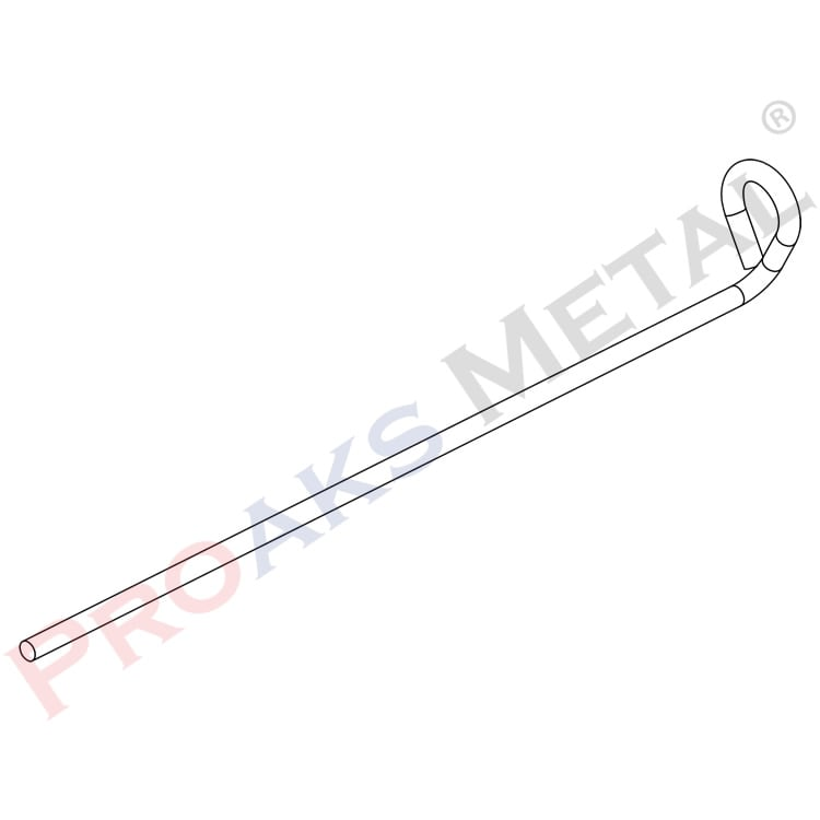 Wire with Round Bend