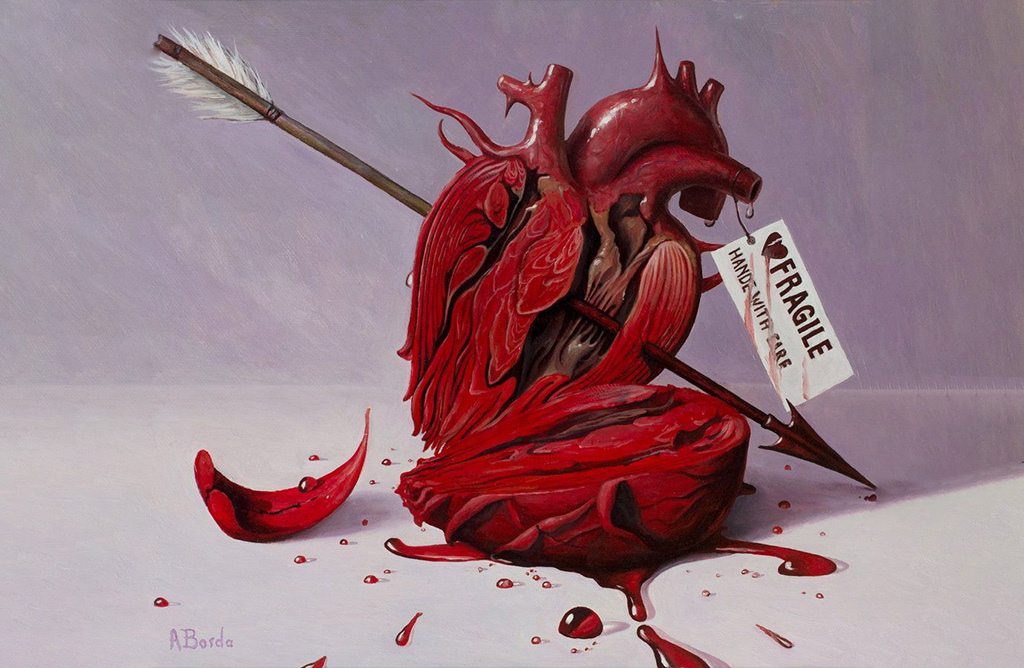 Corazón de artista