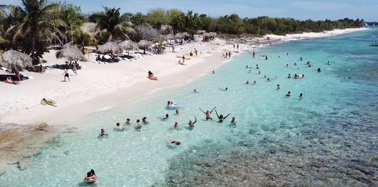 République Dominicaine Adopteunmec Plage Rêve Eau Turquoise
