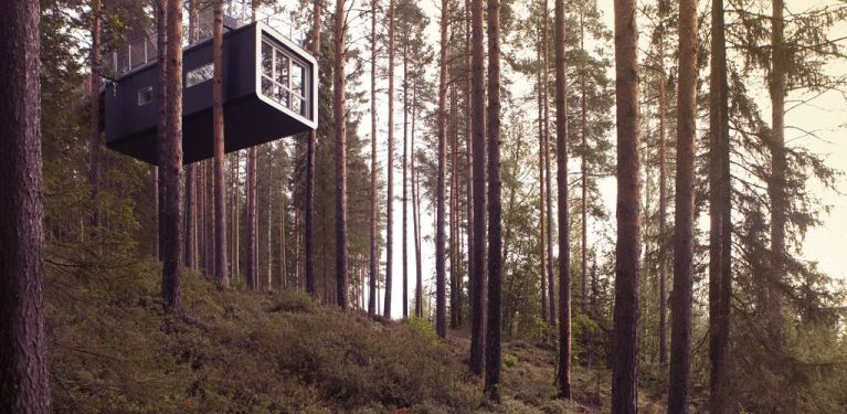 tree hotel suède laponie