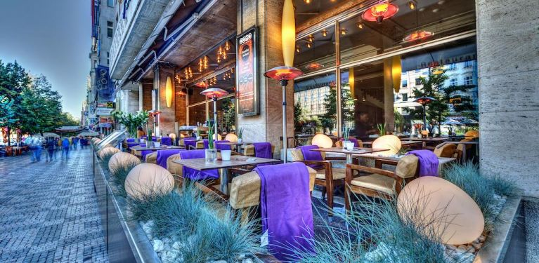 Jalta Boutique hotel prague terrasse